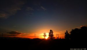 Sunset at Korinos Beach – Greece