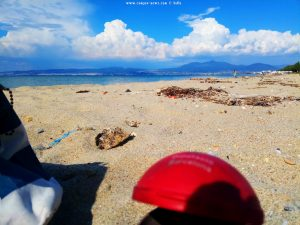 Meine Aussicht vom Strandplatz - Néoi Epivátes – Greece