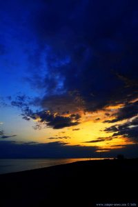 Sunset at Ikismos Lefkes – Greece