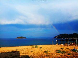 Griechenland ist das Regenbogen-Land - hier Néa Iraklítsa - Greece