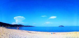 Meine Aussicht von meinem Strandplatz - Néa Iraklítsa – Greece