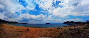 Schon wieder Wolken in Néa Iraklítsa - Greece