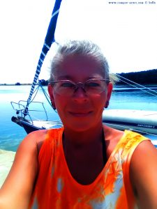Selfie in Porto Lagos – Greece