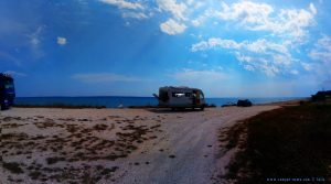 Parking at Krioneri Beach - Greece