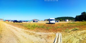 Parking at Butamyata Beach - Sinemorets – Bulgaria - June 2019