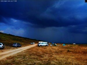 Dunkel schaut es aus am Krapets Beach – Bulgaria