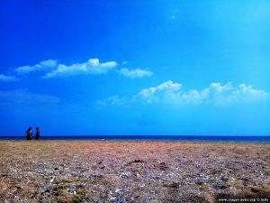 Dann wieder Sonne - meine Aussicht am Strand - Krapets Beach - Bulgaria