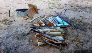 Tadaaaaaaaaaaaa - fertig mit meiner Sägearbeit - Krapets Beach – Bulgaria