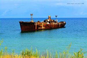 Schiffswrack Evangelina bei Costinesti – Romania