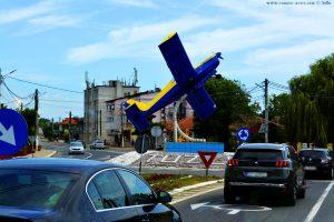 Kreisverkehr bei Tuzla - Romania