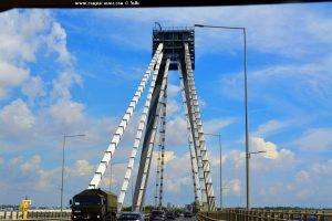 Brücke bei Constanța - Romania