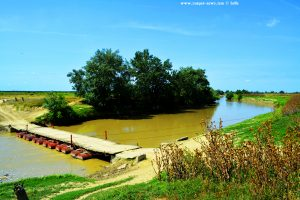 Brücke über den River Ialomita bei Manasia – Romania