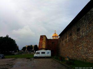 Parking at Cetatea Făgărașului - Făgăraș – Romania
