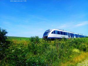 Der Zug auf der anderen Seite - Rezervația Acumularea Vișa - Ocna Sibiului – Romania