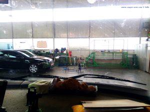 Beim Reifenhändler gegenüber von FIAT - Deva – Romania