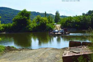 Eine andere Art von Brücke - an der Mureș – Romania