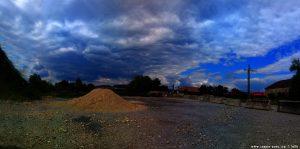 Schon wieder dicke fette Wolken am River Strei - Simeria Veche - RomaniaSchon wieder dicke fette Wolken am River Strei - Simeria Veche - Romania