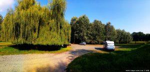 Parking near River Sió by Ocsény – Hungary