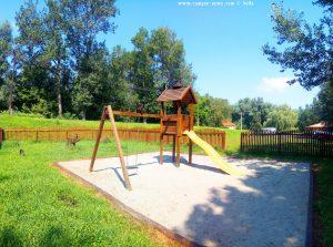 Kinderspielplatz am River Sió near Ocsény – Hungary