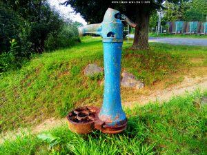 Einer der typischer Brunnen in Romania und Ungarn