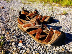 Vergessene Schuhe in Sankt Jakob im Rosental – Austria