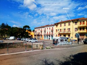 Lunch and Water in Castelnuovo del Garda – Italy