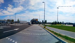 Lidl and Lunch in Caravaggio – Italy