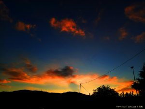 Sunset in Casella – Italy