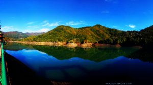 My View today - Lago del Brugneto – Italy