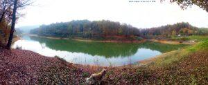 Mit Nicol auf Spaziergang - Lago di Pianfei – Italy
