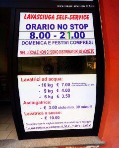 Lavasiciuga Self-Service in Mondovì - Italy
