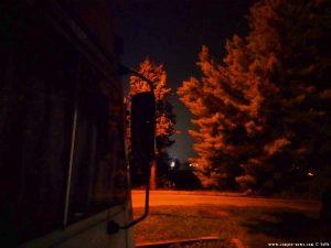 Bei Nacht - Parking at the Cemetery Corso Genova 3 - 12084 Mondovì - Cuneo - Italy