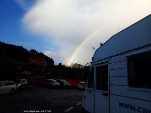 Parking at Parcheggio Camper Via Natta - Via Natta 38 - 17015 Celle Ligure - Savona – Italy
