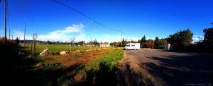 Parking in Arie Camping Cars - 2 Route de Bages - 11440 Peyriac-de-Mer - France - November 2019