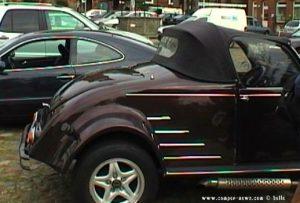 Umgebaute Ente zum Roadster Cabriolet