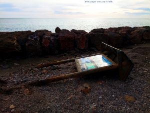 Wohl von dem Sturm neulich - Platja de la Llosa - Spain