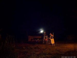 Der Mond geht gerade auf - Platja de la Llosa - Spain
