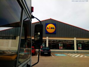 Kaffee-Pause am Lidl in Picassent – Spain