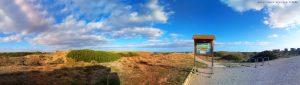 Sonne-Wolken-Mix am Platja la Garrofera – Spain