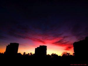Sunset at Platja la Garrofera – Spain