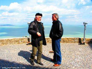 Ostern 2008 - Peter und sein Freund am Balaton Lake – Hungary
