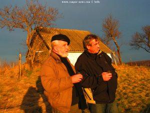Ostern 2008 - Peter und sein Freund in Hungary