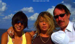 Pierre, Julia und ich in Cuxhaven