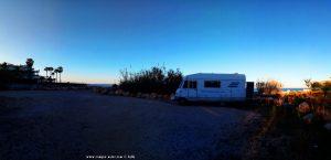 Parking at Platja L'Almadrava - Platja Les Deveses - Partida Deveses B 19J - 03789 Dénia - Alicante – Spain – January 2020 (first Place)