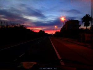 Beim letzten Abendrot kehren wir zurück - Platja L'Almadrava - Spain