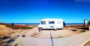 Parking at Platja L'Almadrava – Spain