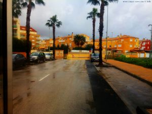 Viele gesperrte Strassen - Dénia – Spain