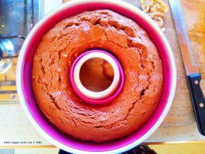 Schoko-Walnuss-Kuchen (The Bomb) - nach dem Backen