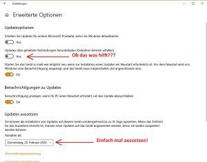 Windows 10 – Zwangsupdate!