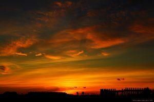 Sunset at Agua Amarga Playa - Alicante – Spain